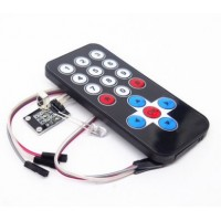 INFRARED REMOTE CONTROL IR RECEIVER MODULE DIY KIT