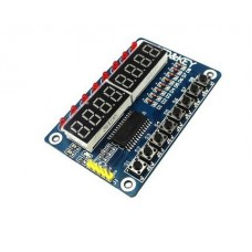 DIGITAL 8 BIT LED DISPLAY MODULE WITH 8 KEYS TM1638