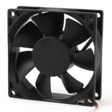 FAN DC 12V 80MM SQUARE X 25MM (USED)