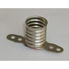 LAMP HOLDER E10 METAL BODY - SCREW IN - SOLDER TAG