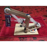 Hydraulic Crane Kit with Electromagnet - GRADE 7