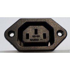 PANEL MOUNT IEC CONNECTOR - FEMALE C13