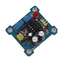 NE555 PULSE GENERATOR WITH ADJUSTABLE FREQUENCY